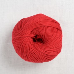 Image of Wool and the Gang Shiny Happy Cotton 50 Lipstick Red