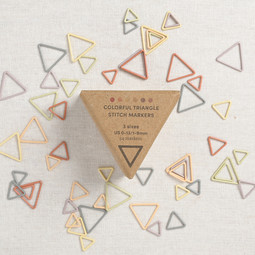 Image of Cocoknits Colorful Triangle Stitch Markers, 54 ct.