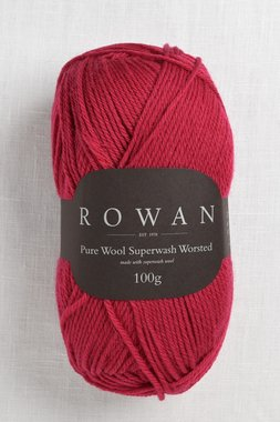 Image of Rowan Pure Wool Worsted 124 Rich Red