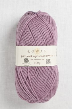 Image of Rowan Pure Wool Worsted 191 Mauve Mist
