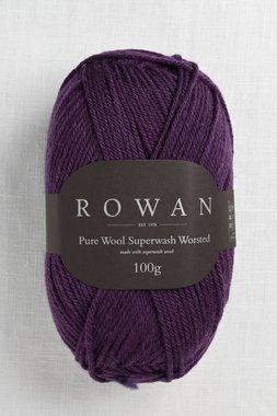Image of Rowan Pure Wool Worsted 198 Eggplant