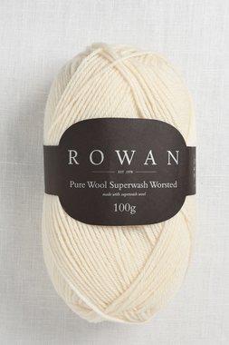 Image of Rowan Pure Wool Worsted 102 Soft Cream