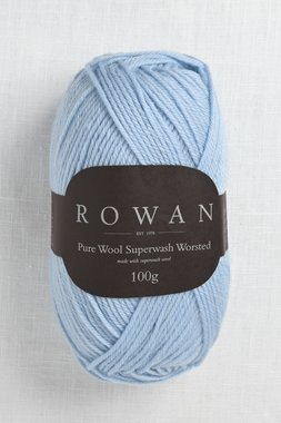 Image of Rowan Pure Wool Worsted 194 Sky