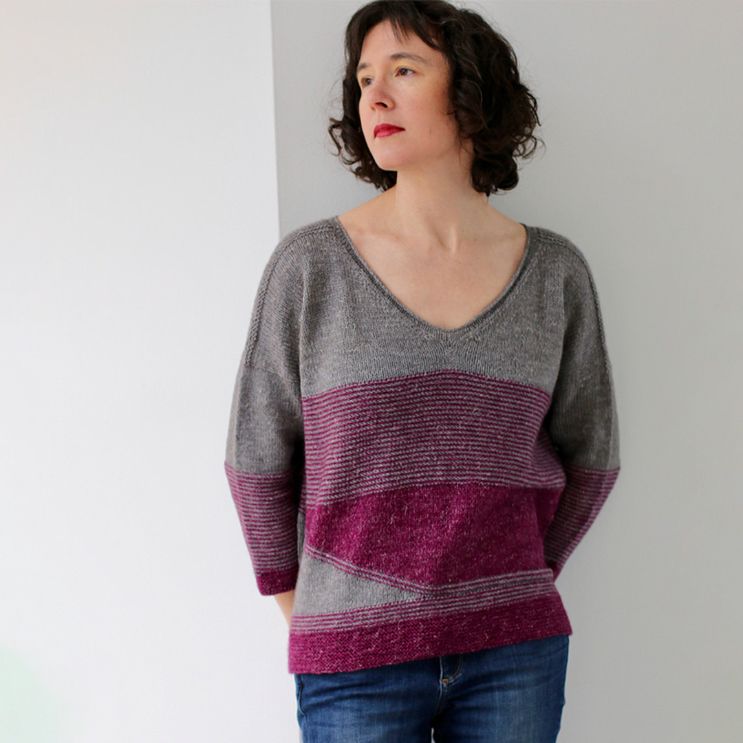 Feature Pattern of the Week - Coiled Magenta