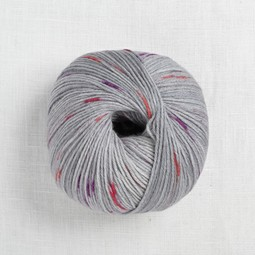 Image of Lang Merino 200 Bebe Color 361 Purple & Pink Dot