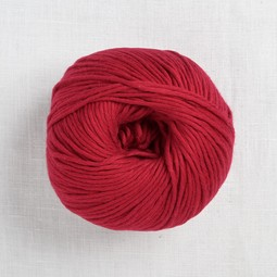 Image of Wool and the Gang Shiny Happy Cotton 95 True Blood Red