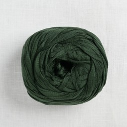 Image of Wool and the Gang Tina Tape Yarn 35 Fern Green