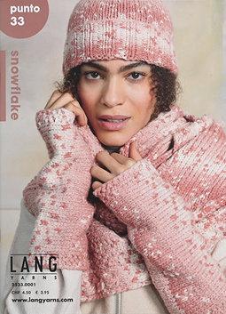 Image of Lang Punto 33: Snowflake Pattern Booklet