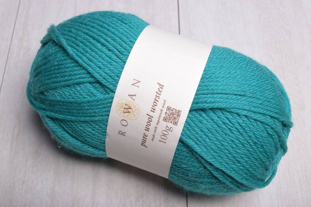 Image of Rowan Pure Wool Worsted 139 Teal