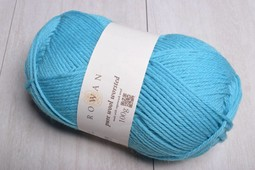 Image of Rowan Pure Wool Worsted 138 Pool Blue (Discontinued)