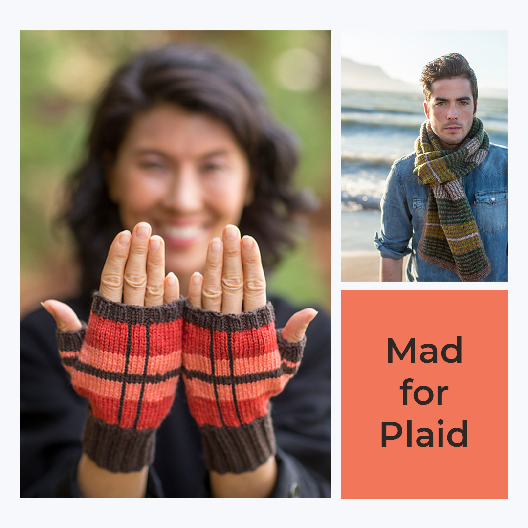 Feature Pattern of the Week - Mad for Plaid