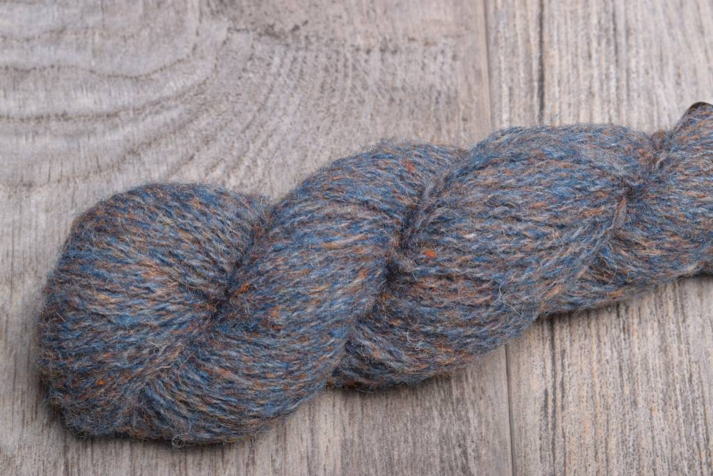 Image of Jamieson & Smith Shetland Wool  1279 Blue Orange