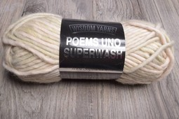 Image of Wisdom Yarns Poems Uno 401 Cloud Cream