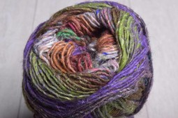 Image of Noro Silk Garden Sock Yarn S407 Rose Purple Green