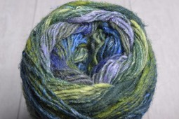 Image of Noro Silk Garden Sock Yarn S354 Green Cobalt Navy Violet