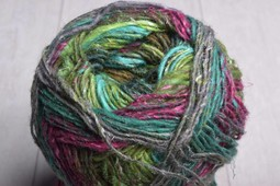 Image of Noro Silk Garden Sock Yarn S399 Magenta Greens Brown