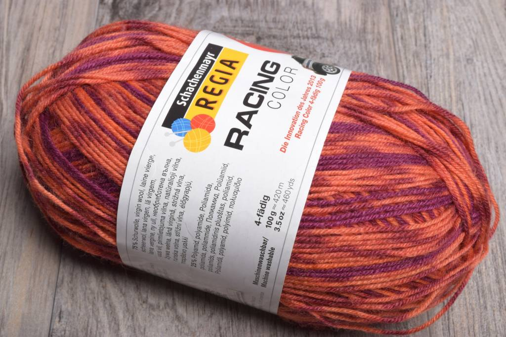 Image of Schachenmayr Regia 4 Ply  8894 Orange Blaze