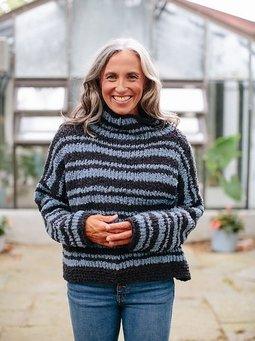 Image of Serenity Stripe Sweater
