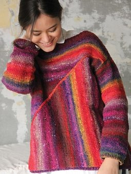 Image of #24 Asymmetrical Pullover