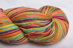 Image of Misti Alpaca Hand Paint Sock Yarn Fingering HS55 Spice it Up (Discontinued)