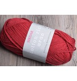 Image of Sirdar Cotton Rich Aran 5 Strawberry