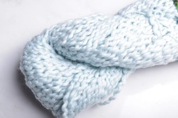 Image of Florafil Bulky Cotton Baby Blue