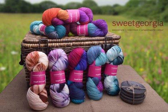 New Sweet Georgia Tough Love Sock Yarn Colors!!!