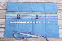 Image of Della Q Interchangeable Needle Case 185-1, 23 Ocean Stripe