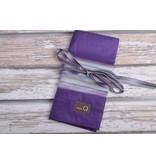 Image of Della Q Interchangeable Needle Case 185-1, 18 Purple Stripe