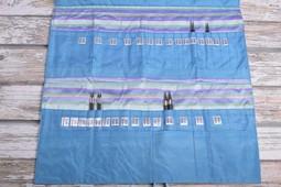 Image of Della Q Double Interchangeable Needle Case 195-1, 23 Ocean Stripe