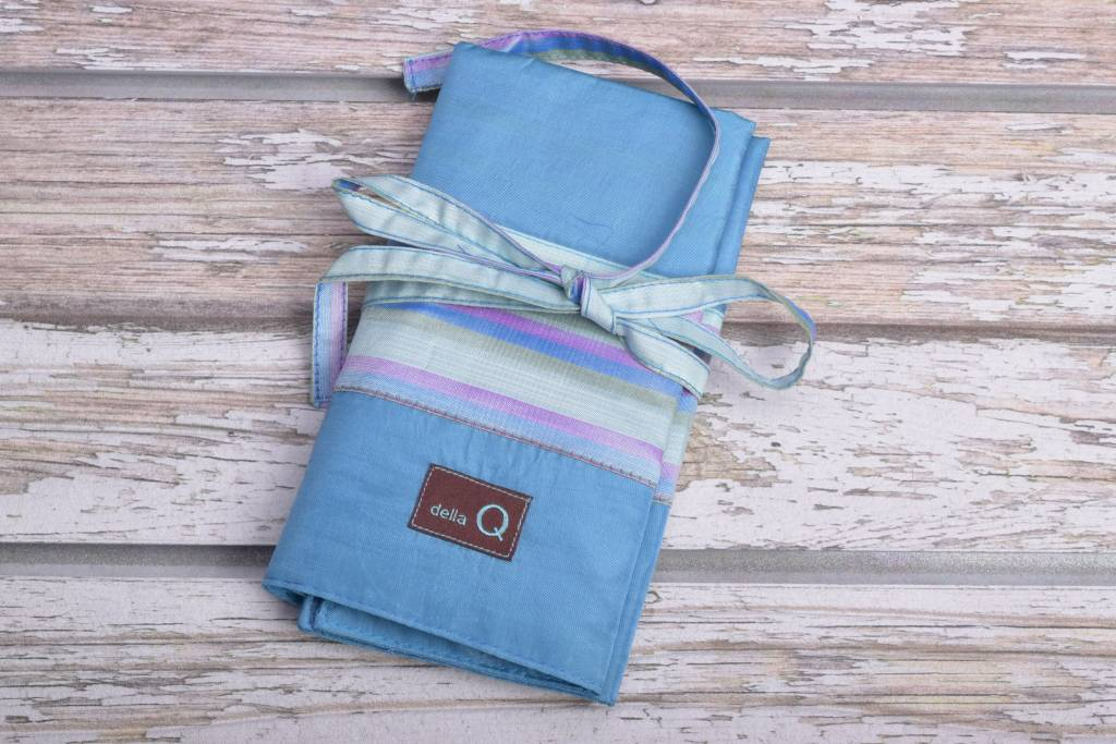 Image of Della Q Double Interchangeable Needle Case 195-1, 23 Ocean Stripe