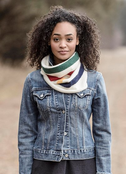 Wool & Co. Feature Pattern of the Week - Albany Alpaca Cowl
