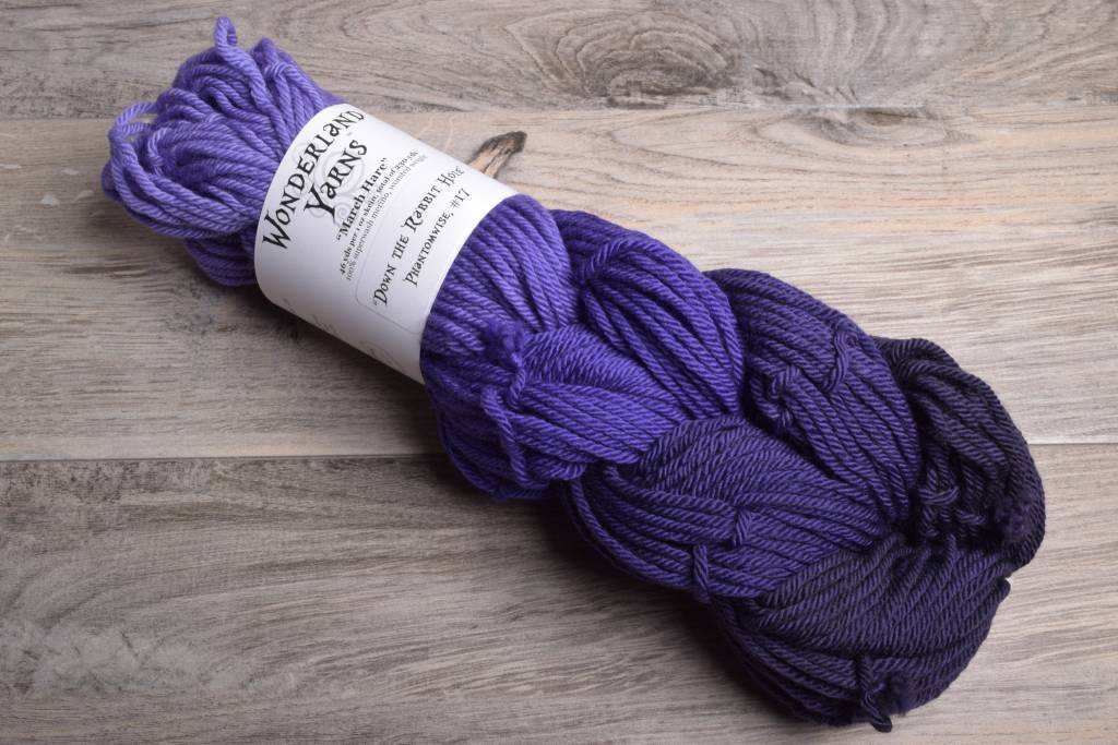 Image of Wonderland March Hare Mini-Skein Braids 17 Phantomwise