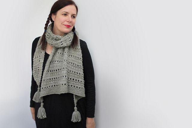 Wool & Co. Feature Pattern of the Week - Sonder Shawl
