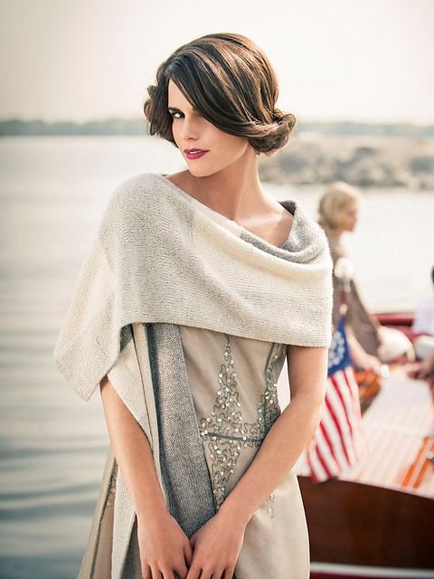Wool & Co. Feature Pattern of the Week - The Frances Wrap