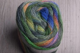 Image of Lang Mille Colori Socks 97 Green, Blue, Sunset (Discontinued)