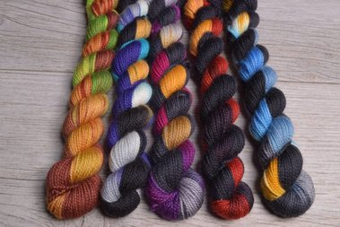 Image of Brew City Yarns, Mini Skein Set