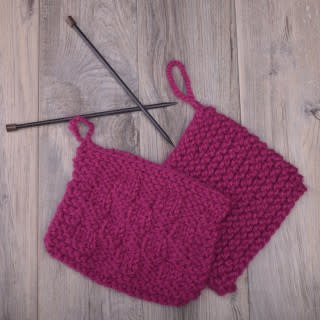 Image of Knitting 101: Learn to Knit, Tuesday, February 5, 12, 19, 26;  12:00-2:00PM