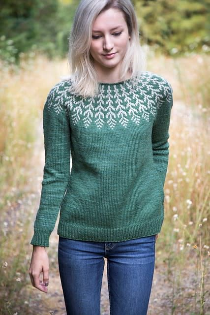 Fern & Feather Sweater, Wednesday, January 2, 9, 23, February 13;  6:00-8:00PM