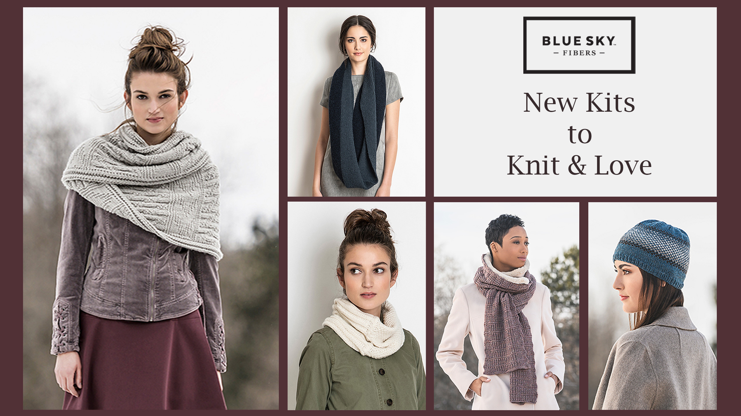 Image of New Kits to Knit & Love