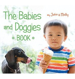 HOUGHTON MIFFLIN BABIES AND DOGGIES BOOK BB SCHINDEL & WOODWARD