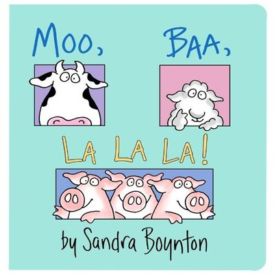 SIMON AND SCHUSTER MOO BAA LA LA LA BB BOYNTON