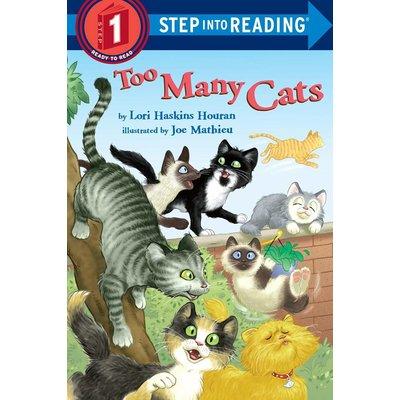 RANDOM HOUSE TOO MANY CATS PB HOURAN (STEP INTO READING)