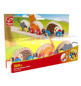HAPE TACTILE ANIMAL TRAIN
