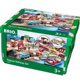 BRIO BRIO DELUXE RAILWAY SET