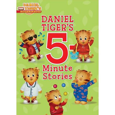 SIMON AND SCHUSTER DANIEL TIGER 5-MINUTE STORIES HB FRUCHTER