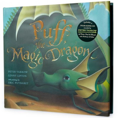 STERLING PUBLISHING PUFF THE MAGIC DRAGON W/CD