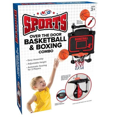OVER THE DOOR BASKETBALL & BOXING COMBO