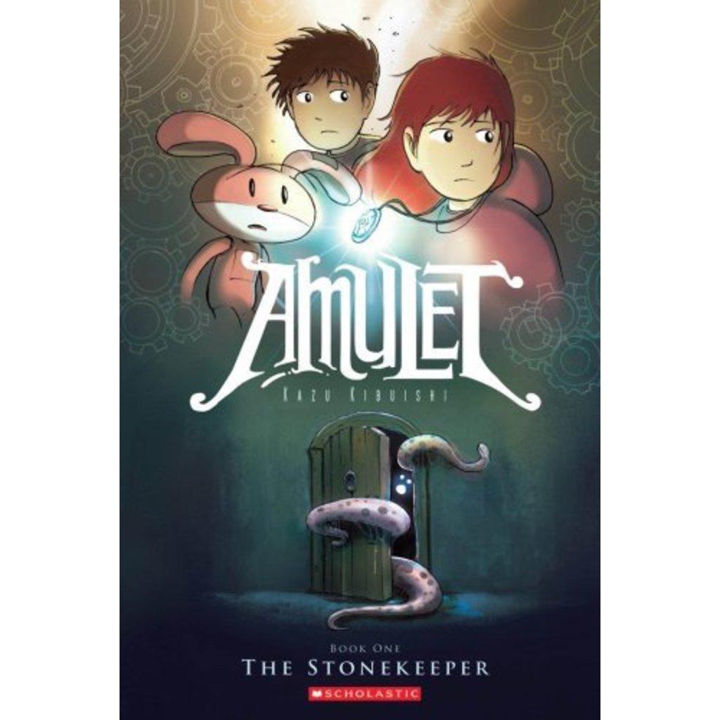 SCHOLASTIC AMULET: THE STONEKEEPER (AMULET 1)