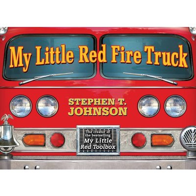 SIMON AND SCHUSTER MY LITTLE RED FIRE TRUCK HB JOHNSON